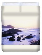 Giants Causeway, Co Antrim, Ireland Duvet Cover