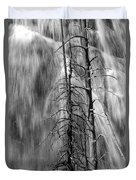 Gibbons Falls In Yellowstone National Park Duvet Cover