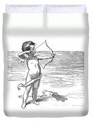 Cupid, 1900 Duvet Cover