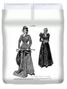 Gibson: Grandmother, 1897 Duvet Cover