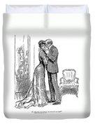 Kiss, 1903 Duvet Cover