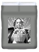 Gift For The Virgin Of Guadalupe Duvet Cover