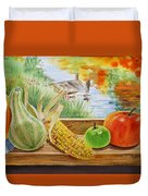 Gifts From Fall Duvet Cover
