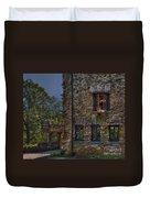 Gillette Castle Exterior Hdr Duvet Cover