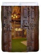 Gillette Castle's Bar Duvet Cover