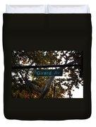 Girard Avenue In Philadelphia Duvet Cover