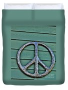 Give Peace A Chance Duvet Cover