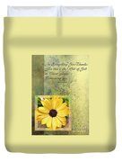 Give Thanks IIi Duvet Cover