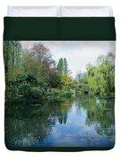 Giverny Gardens, Normandy Region Duvet Cover