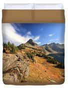 Glacier Hidden Lake Duvet Cover