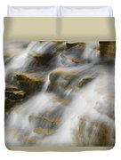 Glacier Np Waterfall Duvet Cover