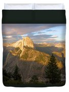 Glacier Point Glow Duvet Cover