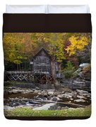 Glade Creek Grist Mill II Duvet Cover