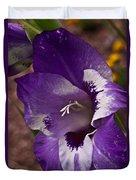 Gladiola Blossom 5 Duvet Cover