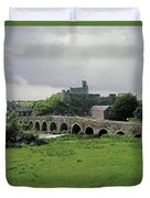 Glanworth Bridge, Funshion River, Co Duvet Cover
