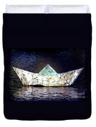 Glass Bottomed Boat Duvet Cover
