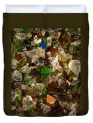 Glass Chips Duvet Cover