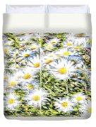 Glass Flowers Duvet Cover