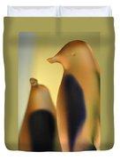 Glass Penguins Duvet Cover