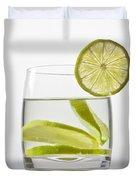 Glass With Lemonade Duvet Cover by Joana Kruse