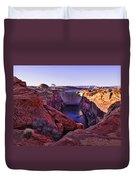Glen Canyon Dam Duvet Cover