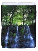 Glenariff Waterfall, Co Antrim, Ireland Duvet Cover