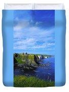 Glenarriff Falls, The Antim Glens, Co Duvet Cover