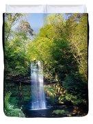 Glencar Waterfall, County Sligo Duvet Cover