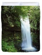 Glencar Waterfall, Yeats Country, Co Duvet Cover