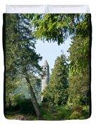 Glendalaugh Round Tower 11 Duvet Cover