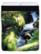 Glendalough, Co Wicklow, Ireland Duvet Cover
