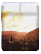 Glendalough, County Wicklow, Ireland Duvet Cover