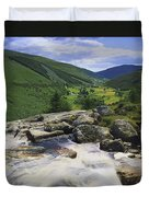 Glenmacnass, County Wicklow, Ireland Duvet Cover