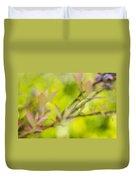 Glimpse Of Spring Duvet Cover