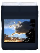 Glorious August Sunset Duvet Cover
