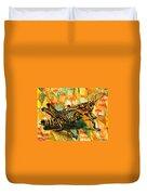 Glorious Grasshopper Duvet Cover
