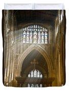 Glorious Rays Of Heavenly Light Duvet Cover