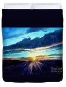 Glory Of The Sunset 2 Duvet Cover