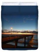 Glow On The Horizon Duvet Cover