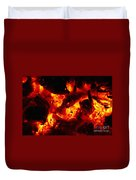 Glowing Ashes Duvet Cover