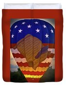 Glowing Constitution Duvet Cover