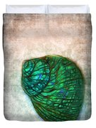 Glowing Seashell Duvet Cover