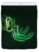 Glowing Spider Duvet Cover