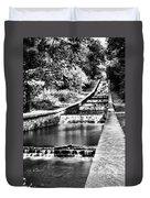 Gnoll Country Park 4 Mono Duvet Cover