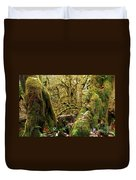 Gnomes In The Rainforest Duvet Cover