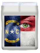 Go North Carolina Duvet Cover