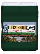 Go Pack Go Duvet Cover