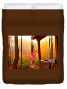 God Country Home Duvet Cover