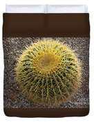 Gold Barrel Cactus   No 1 Duvet Cover