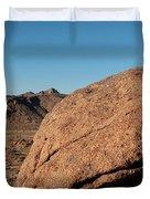 Gold Butte Sandstone Duvet Cover